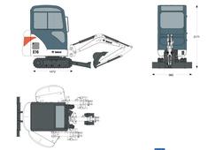 Bobcat E16 Compact Excavator