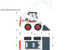 Bobcat S205 Compact Loader