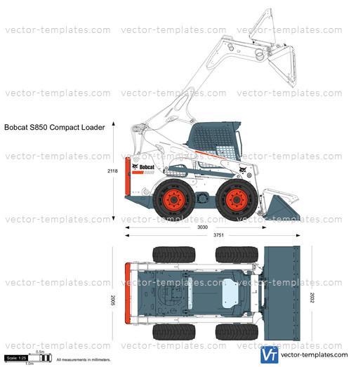 Bobcat S850 Compact Loader
