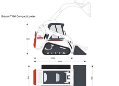 Bobcat T190 Compact Loader