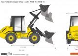 New Holland Compact Wheel Loader W50B TC W80B TC