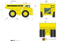 Komatsu 830E-AC Electric Drive Truck