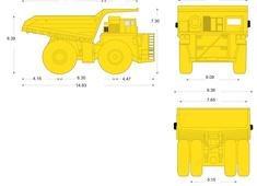 Komatsu 860E-1K Electric Drive Truck