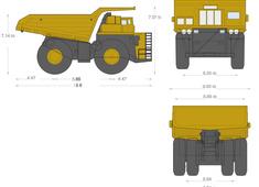 Komatsu 960E-1 Electric Drive Truck