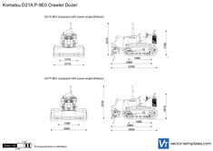 Komatsu D21A P-9E0 Crawler Dozer