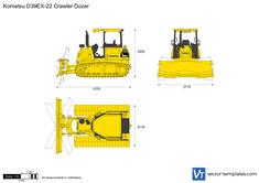 Komatsu D39EX-22 Crawler Dozer