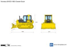 Komatsu D61EX-15E0 Crawler Dozer