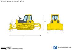 Komatsu D63E-12 Crawler Dozer