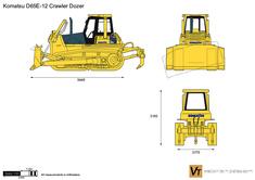 Komatsu D65E-12 Crawler Dozer