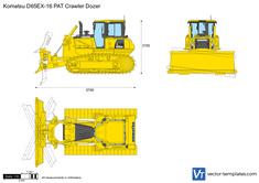Komatsu D65EX-16 PAT Crawler Dozer