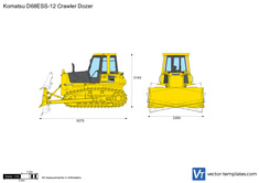 Komatsu D68ESS-12 Crawler Dozer