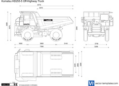 Komatsu HD255-5 Off-Highway Truck