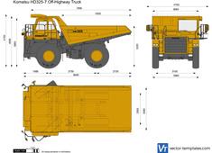 Komatsu HD325-7 Off-Highway Truck