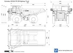 Komatsu HD325-7R Off-Highway Truck