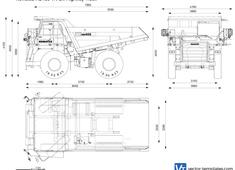 Komatsu HD405-7R Off-Highway Truck