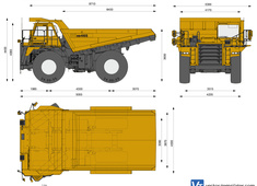 Komatsu HD465-7R Off-Highway Truck