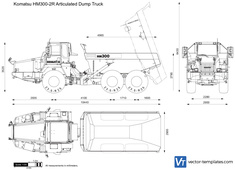 Komatsu HM300-2R Articulated Dump Truck