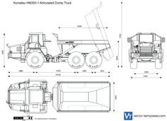 Komatsu HM350-1 Articulated Dump Truck
