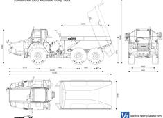 Komatsu HM350-2 Articulated Dump Truck