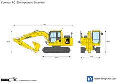 Komatsu PC130-8 Hydraulic Excavator