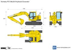 Komatsu PC138US-8 Hydraulic Excavator