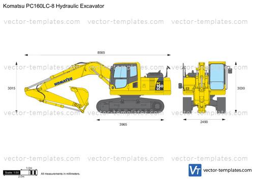 Komatsu PC160LC-8 Hydraulic Excavator