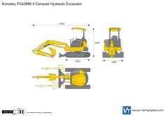 Komatsu PC45MR-3 Compact Hydraulic Excavator
