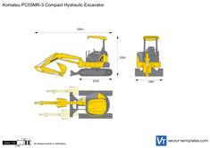 Komatsu PC55MR-3 Compact Hydraulic Excavator
