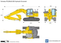 Komatsu PC228US-3E0 Hydraulic Excavator