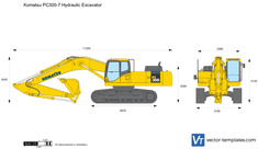 Komatsu PC300-7 Hydraulic Excavator