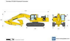 Komatsu PC300-8 Hydraulic Excavator