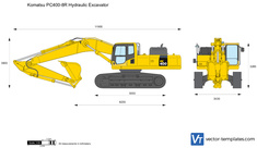 Komatsu PC400-8R Hydraulic Excavator