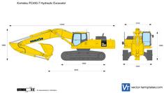 Komatsu PC450-7 Hydraulic Excavator