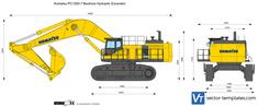 Komatsu PC1250-7 Backhoe Hydraulic Excavator