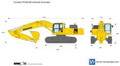 Komatsu PC450-8R Hydraulic Excavator