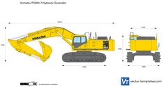 Komatsu PC600-7 Hydraulic Excavator