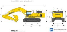 Komatsu PC850-8 Backhoe Hydraulic Excavator