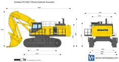 Komatsu PC1250-7 Shovel Hydraulic Excavator