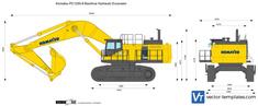 Komatsu PC1250-8 Backhoe Hydraulic Excavator