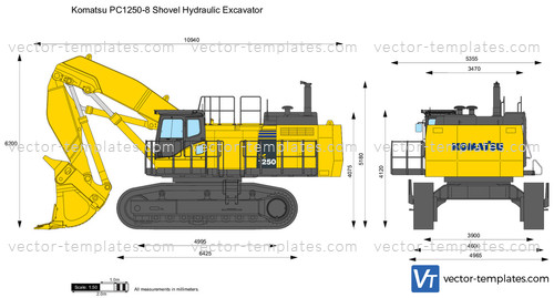 Komatsu PC1250-8 Shovel Hydraulic Excavator