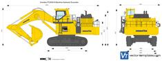Komatsu PC2000-8 Backhoe Hydraulic Excavator