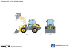 Komatsu WA100-5 Wheel Loader