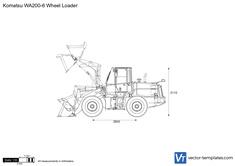 Komatsu WA200-6 Wheel Loader