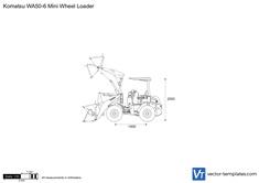 Komatsu WA50-6 Mini Wheel Loader