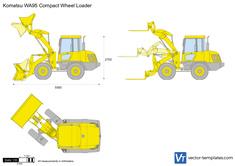 Komatsu WA95 Compact Wheel Loader