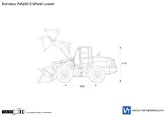 Komatsu WA250-5 Wheel Loader