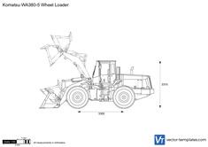 Komatsu WA380-5 Wheel Loader