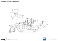 Komatsu WA470-6 Wheel Loader