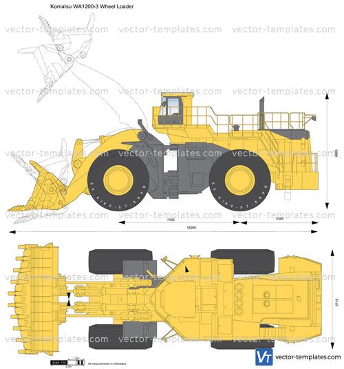 Komatsu WA1200-3 Wheel Loader