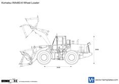 Komatsu WA480-6 Wheel Loader